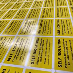 Carly Press Stickers