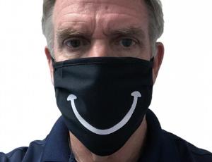Custom Xm Smiley Mask