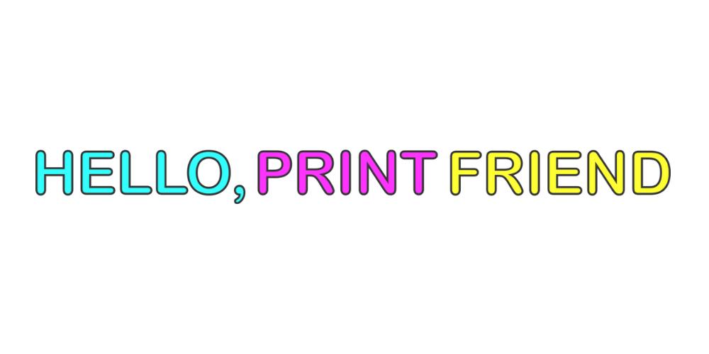 print friend